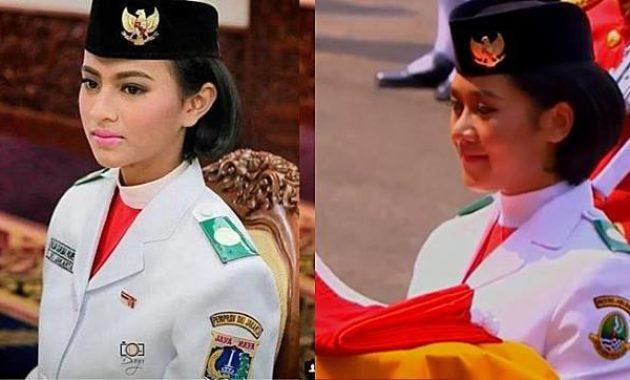 Wanita Pembawa Bendera Pusaka dari Tahun ke Tahun