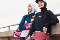 Ide OOTD Olahraga Buat Hijaber yang Bikin Nyaman Gerakin Badan di Sela WFH