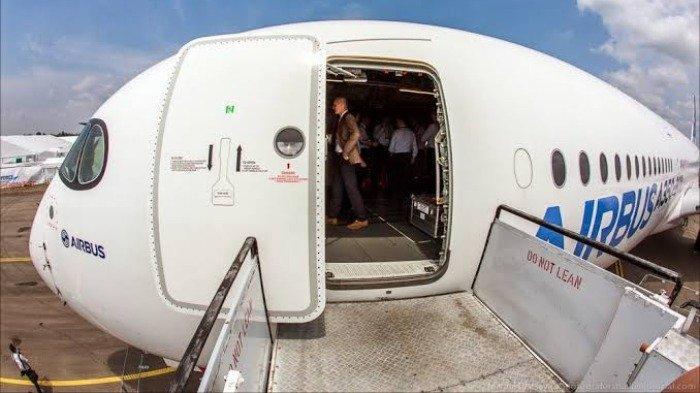 Bandara dulu disiapkan agar pesawat bisa menerima taxi