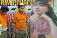 Kepolisian setempat berhasil mengungkap kasus pembunuhan Elvina