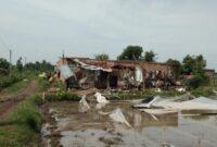 bencana tersebut dipicu oleh faktor cuaca ektrem